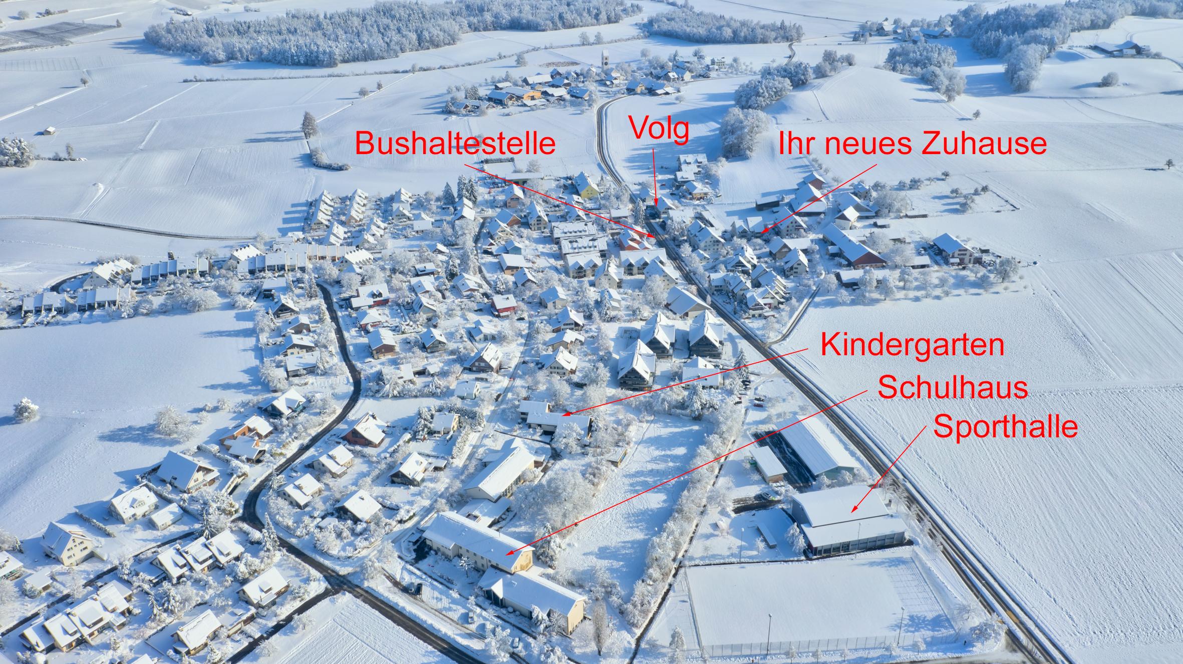 Die Wohnung im Dorf