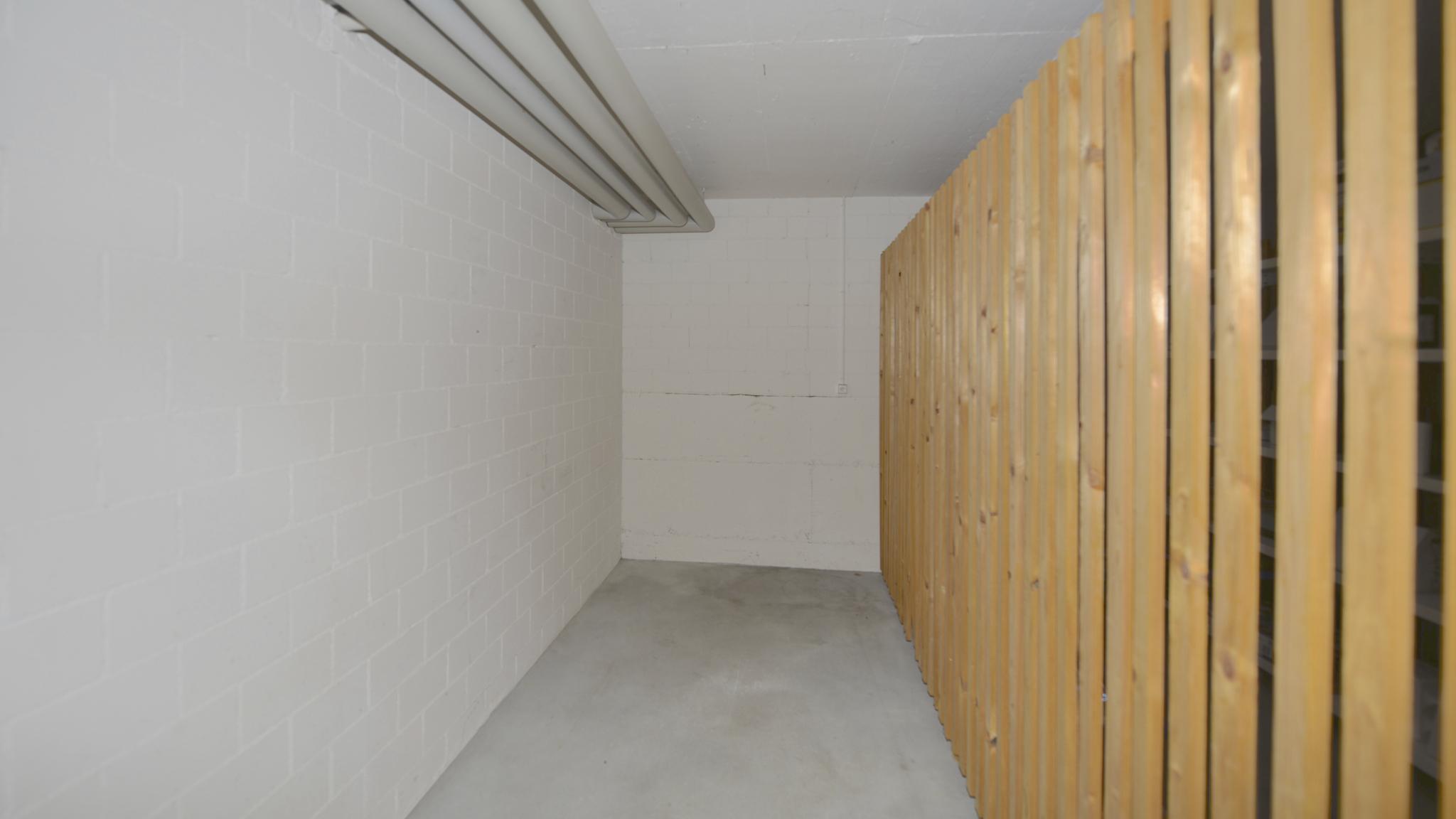 Kellerabteil im Untergeschoss