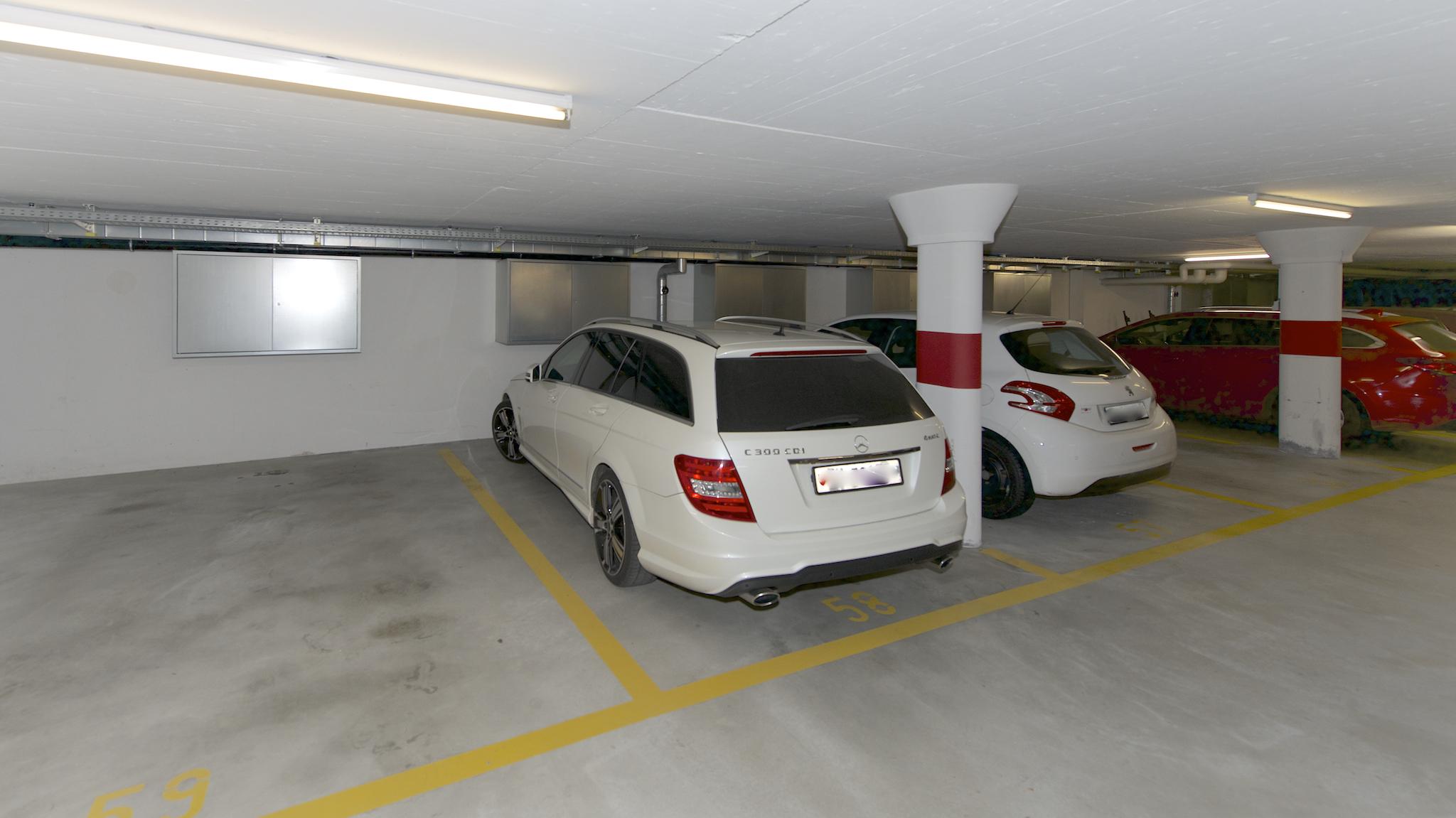 Garagenplatz (ohne Auto😉)