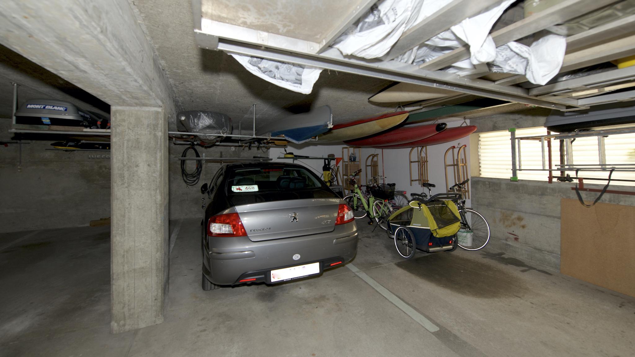 Der Garagenplatz