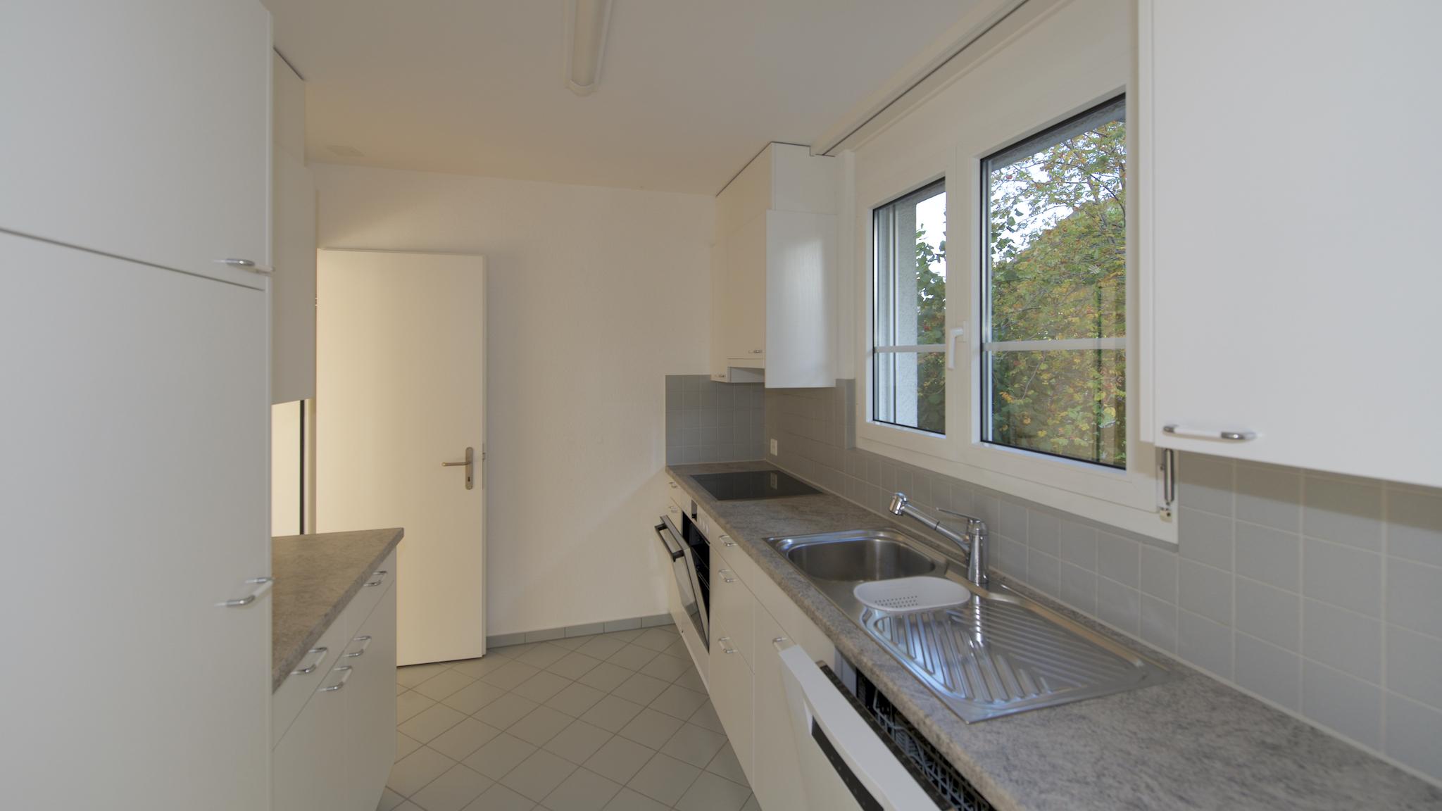 Küche mit Fenster Richtung Süden