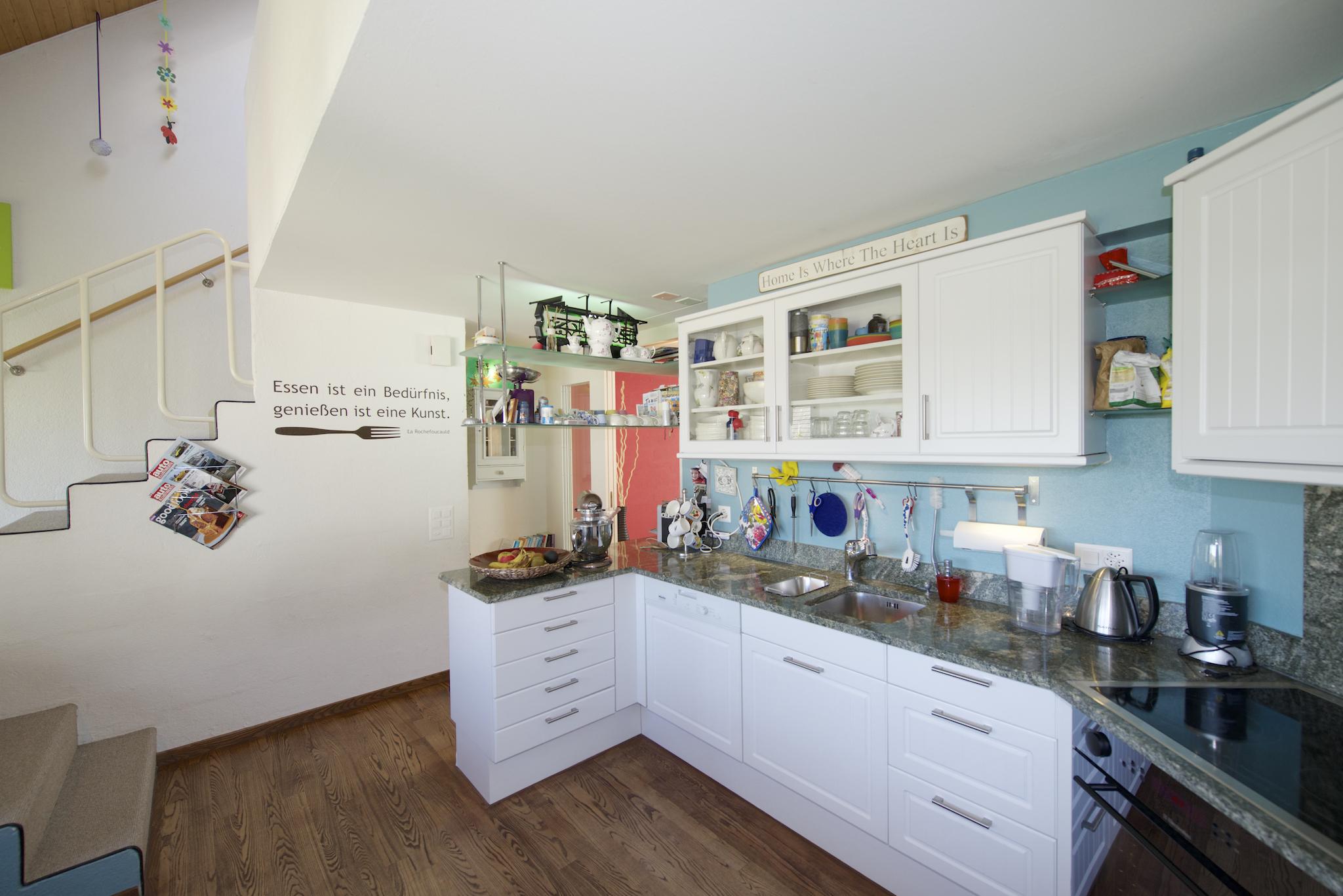 Die erneuerte Küche