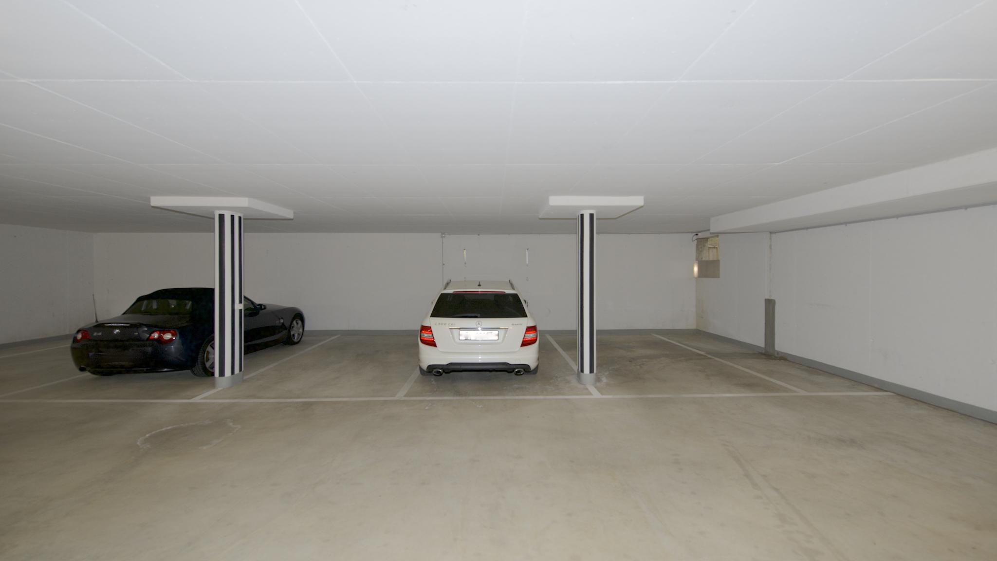 Die drei Garagenplätze