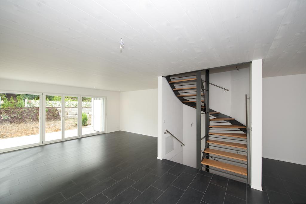 Wohnbereich mit der Treppe