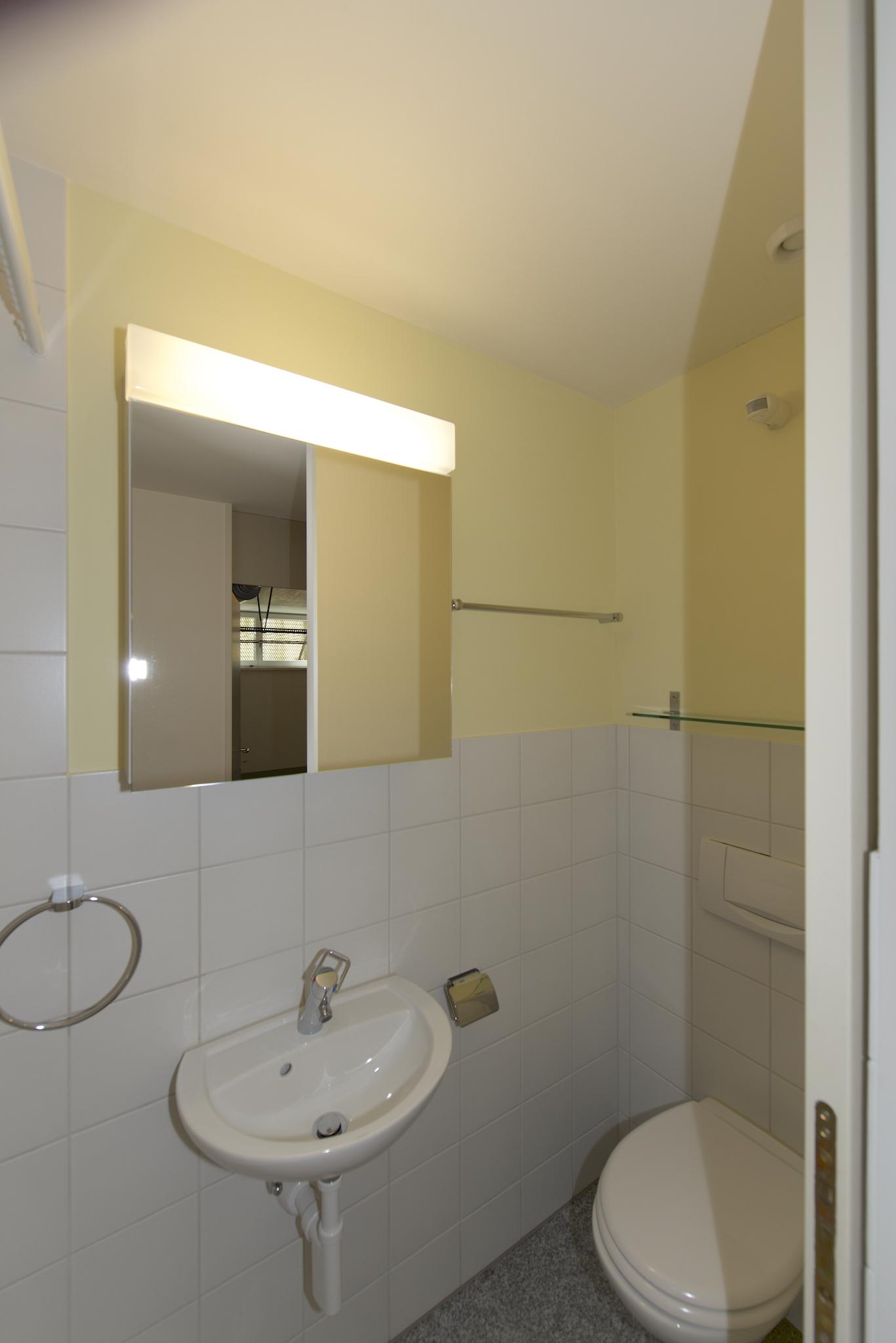 Dusche/WC im Untergeschoss