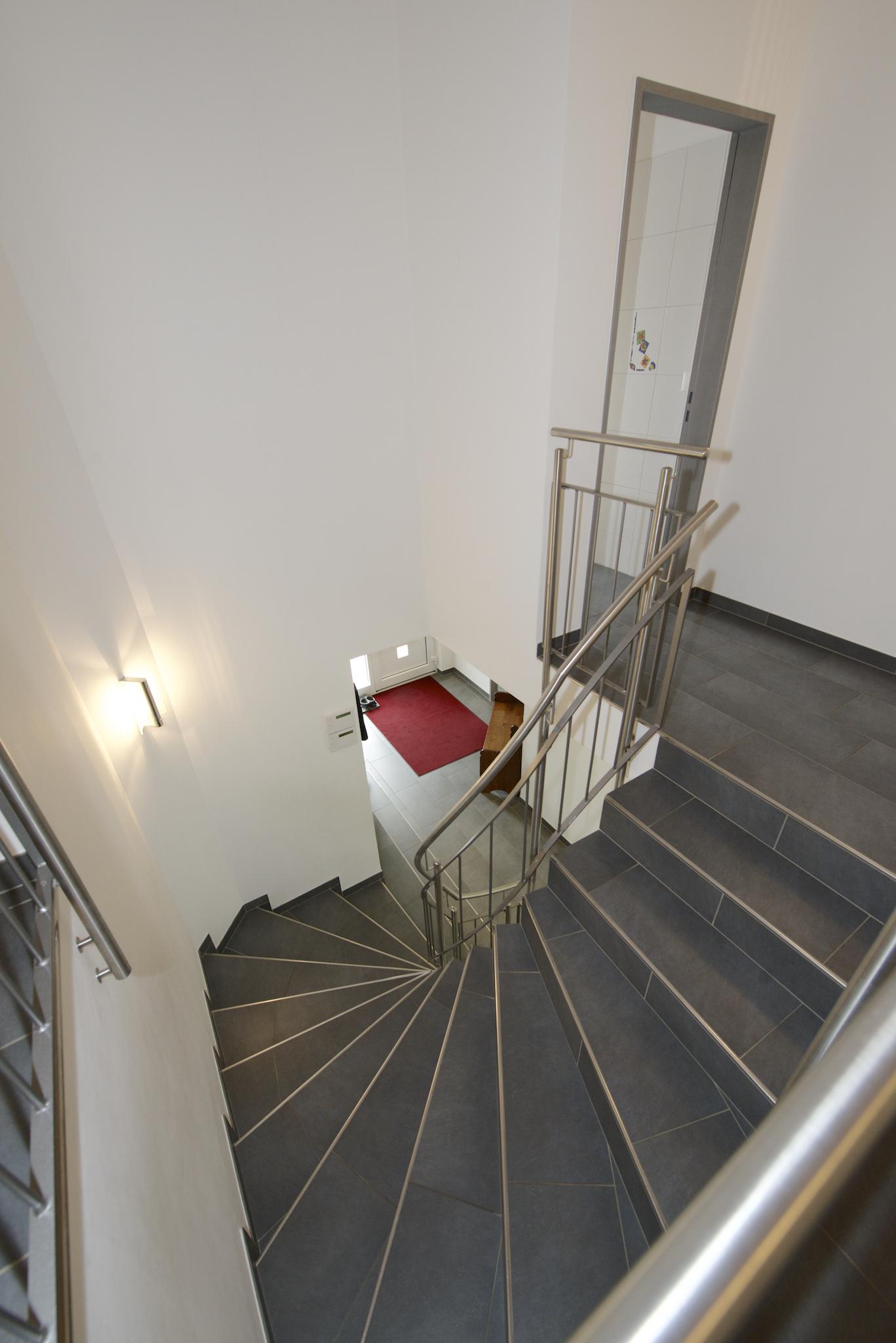 Treppe zurück ins Erdgeschoss