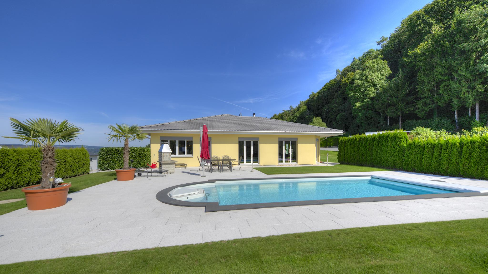 Die Villa mit dem Pool