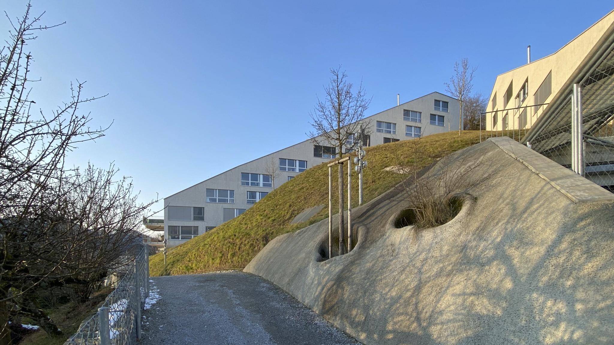 Das Terrassenhaus von aussen