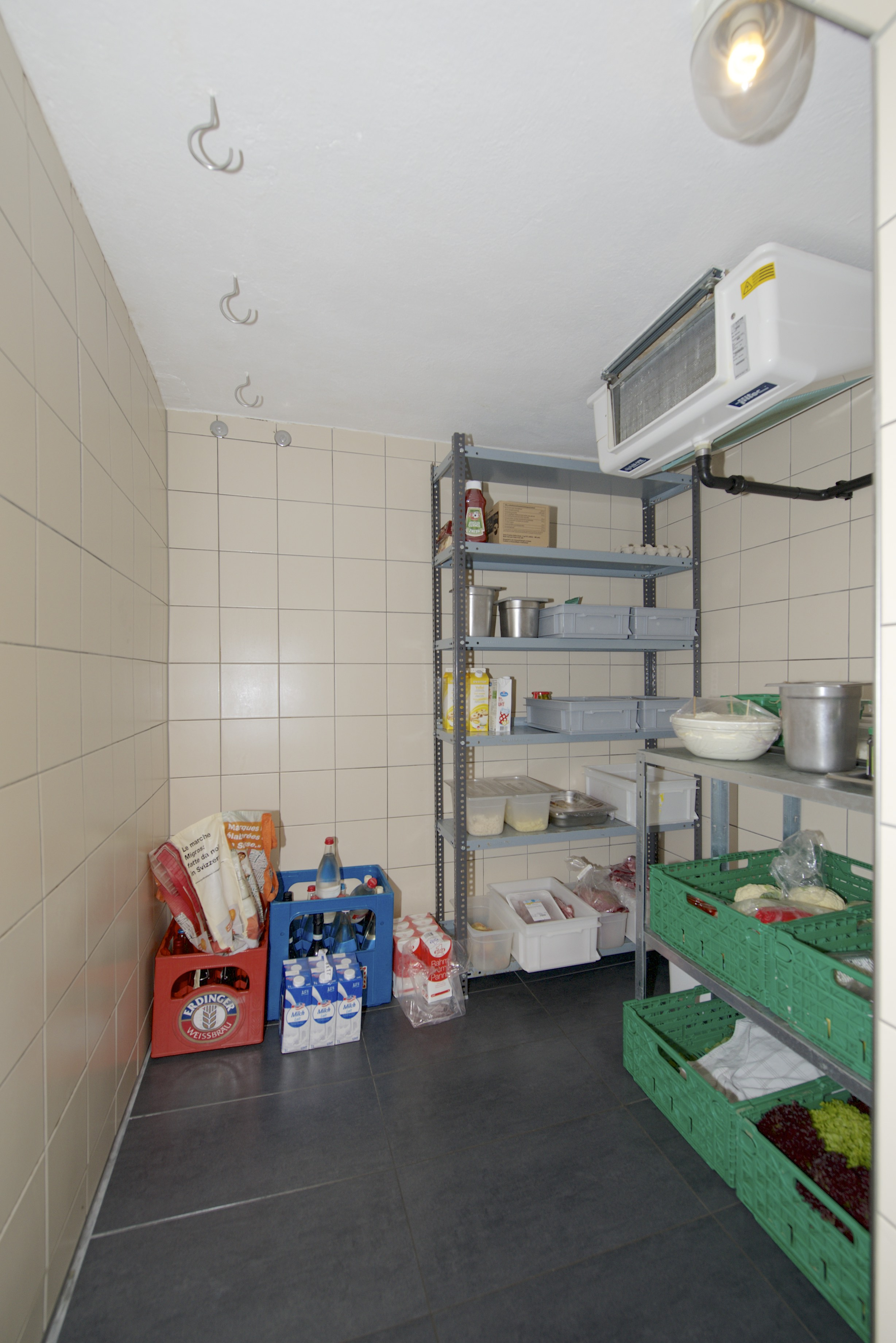 Kühlraum im Erdgeschoss