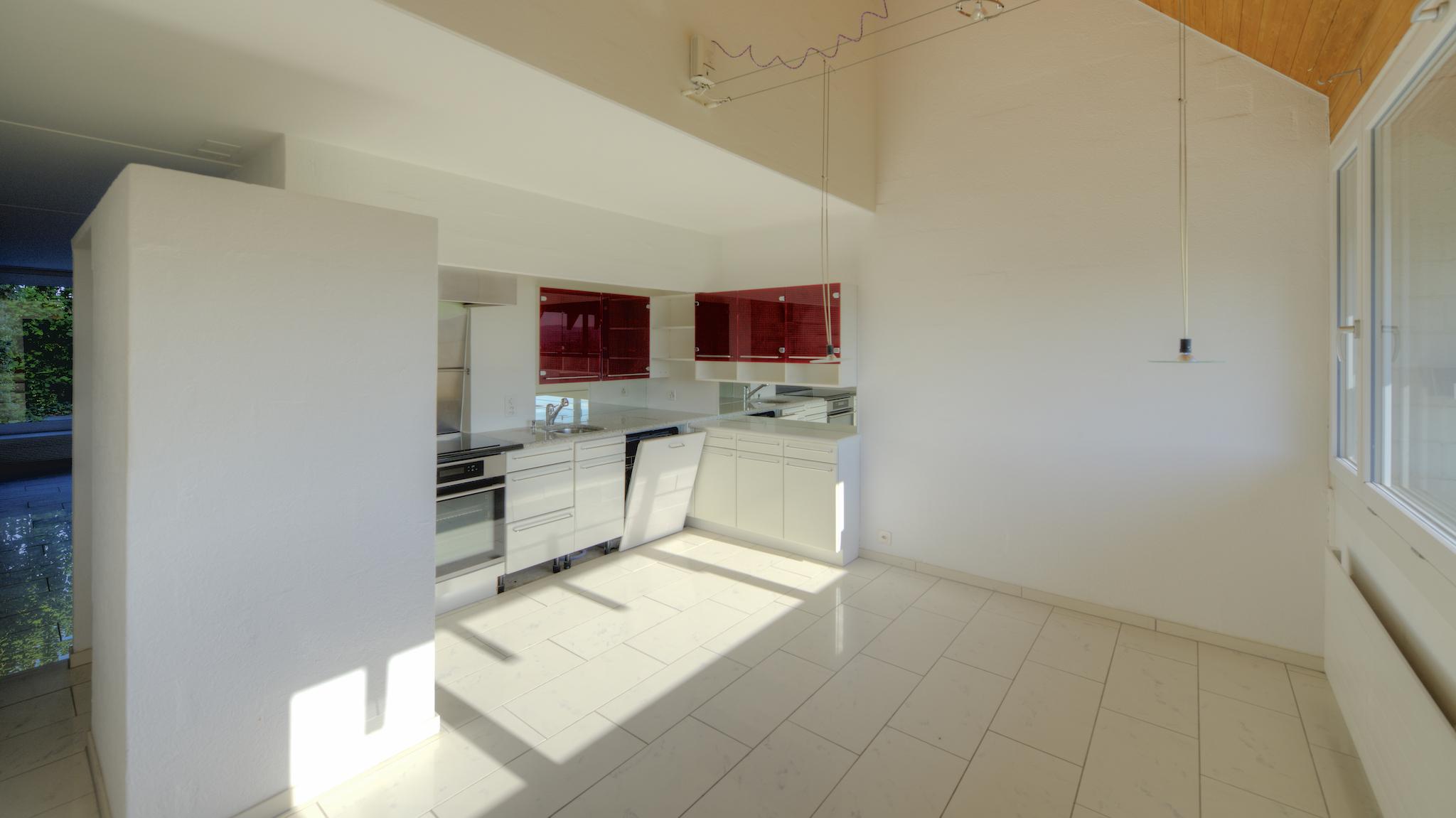 Küche im Wohngeschoss
