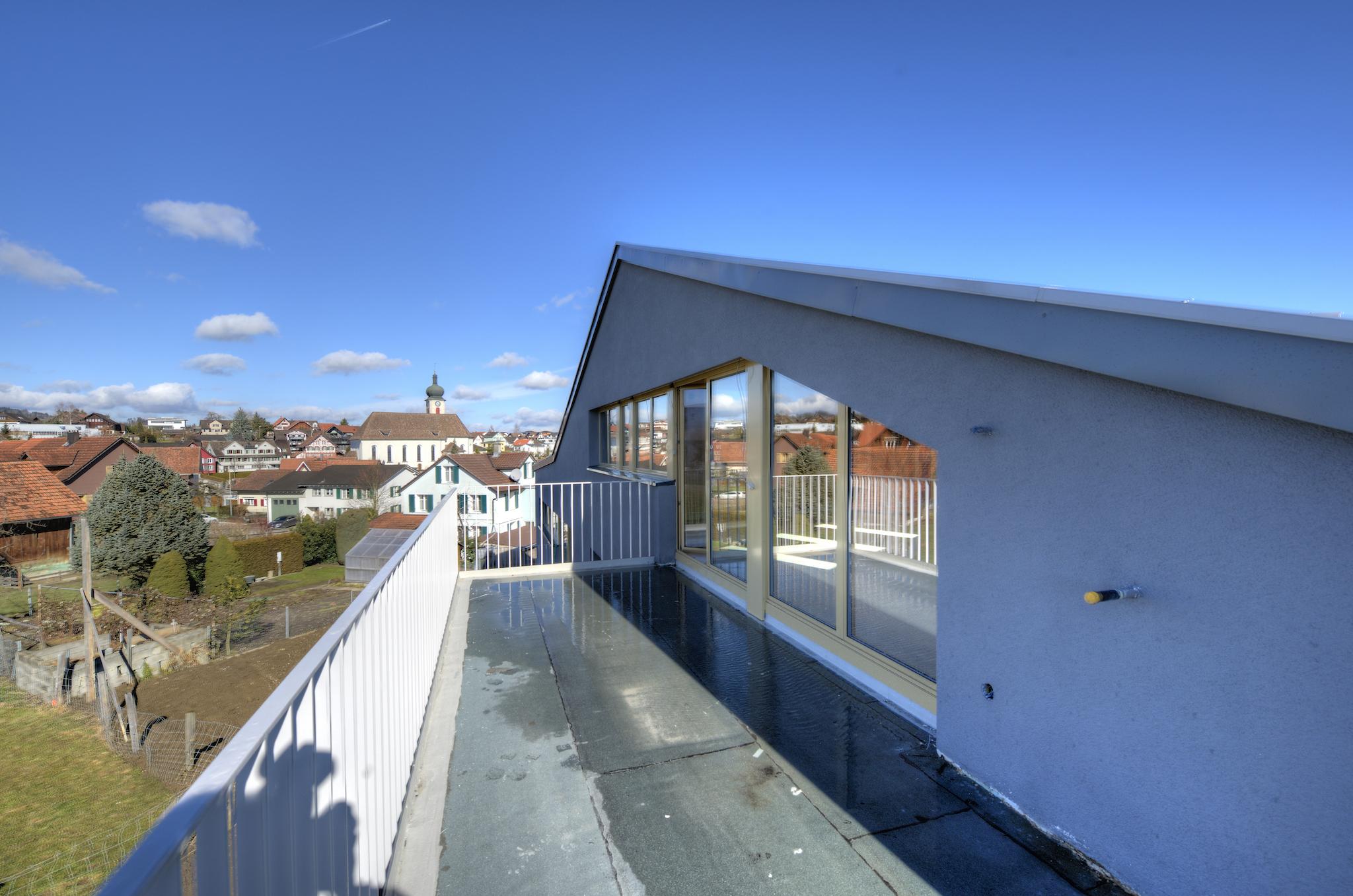 Der West-Balkon