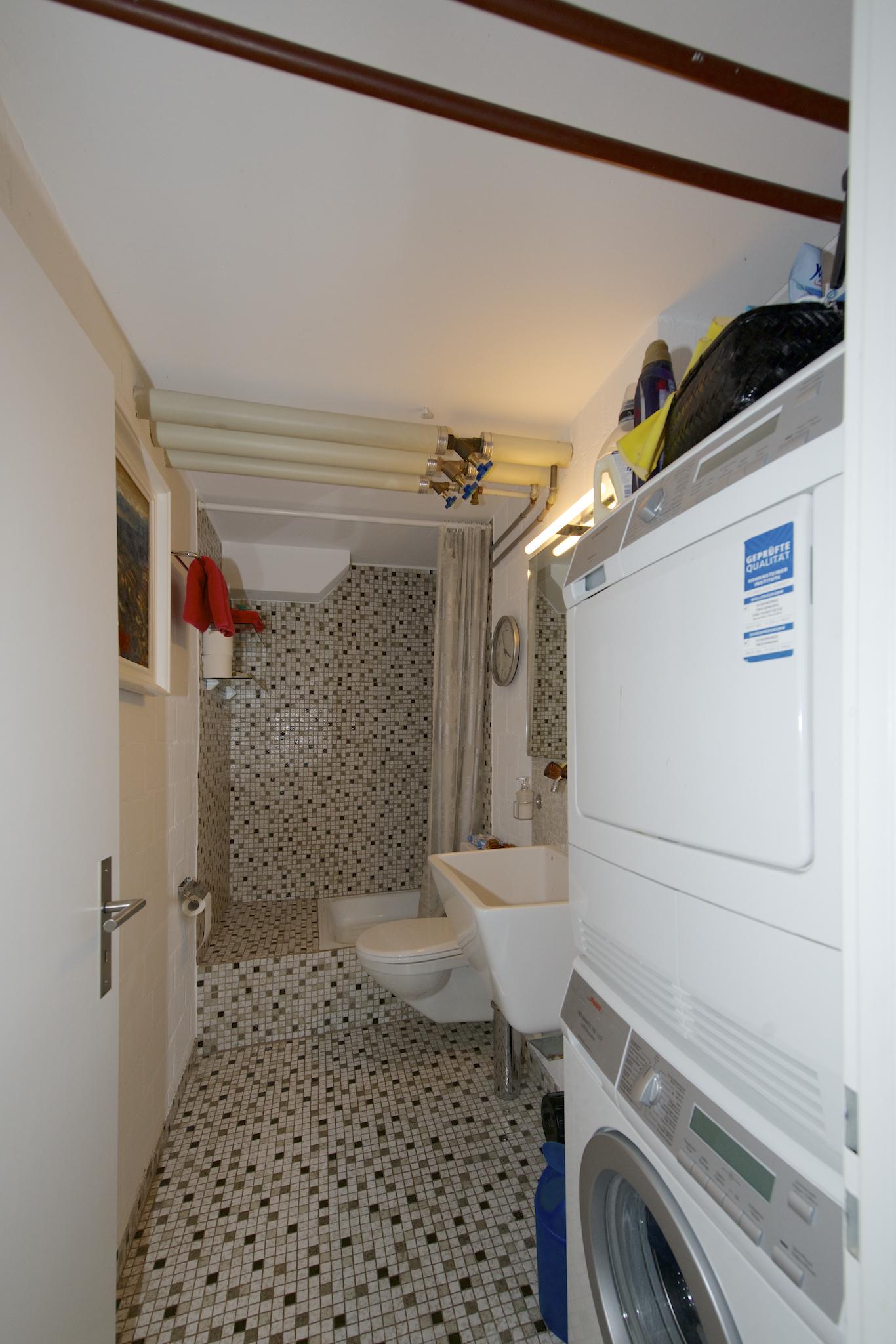 WC/Dusche im Untergeschoss