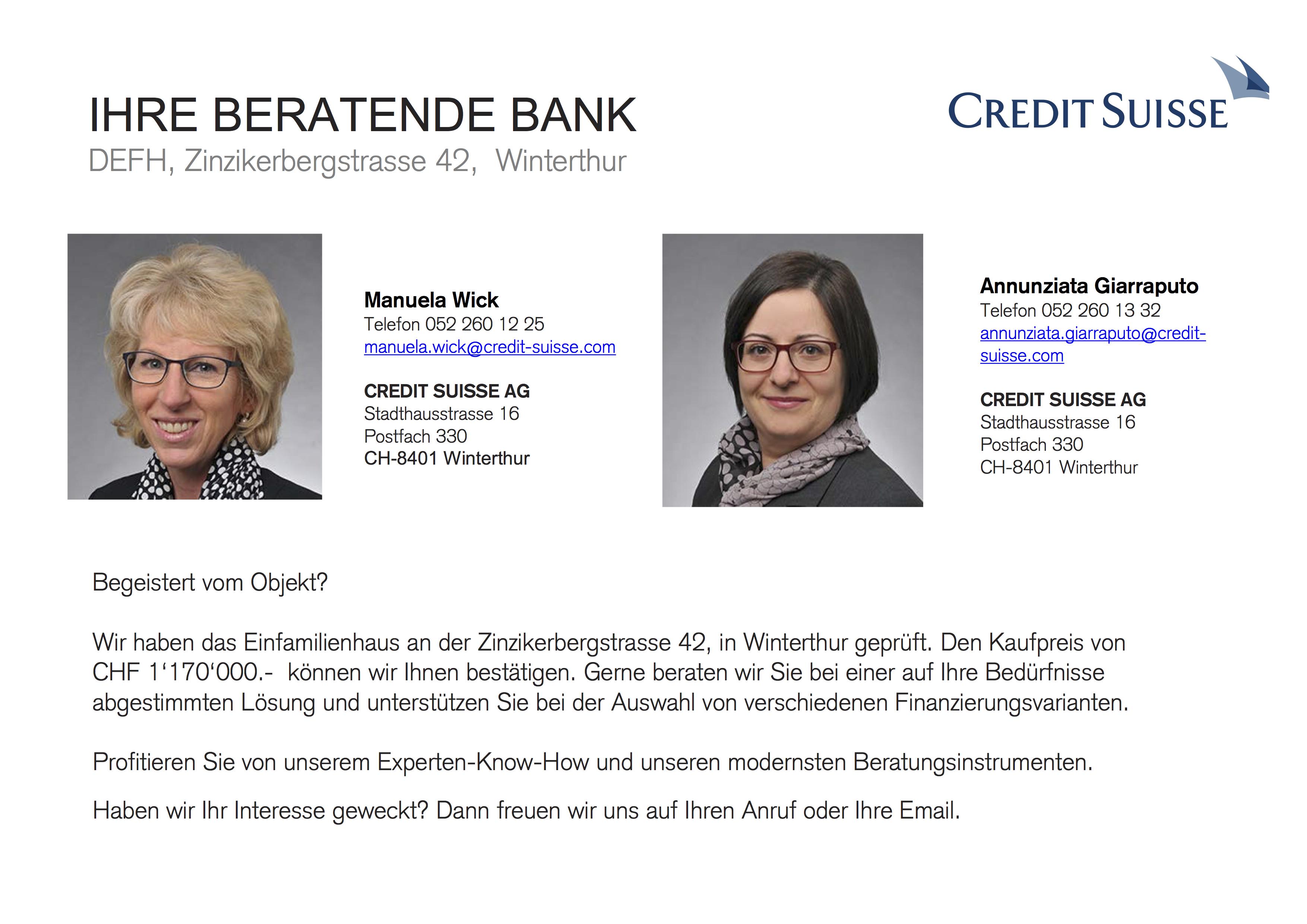 IHRE BERATENDE BANK