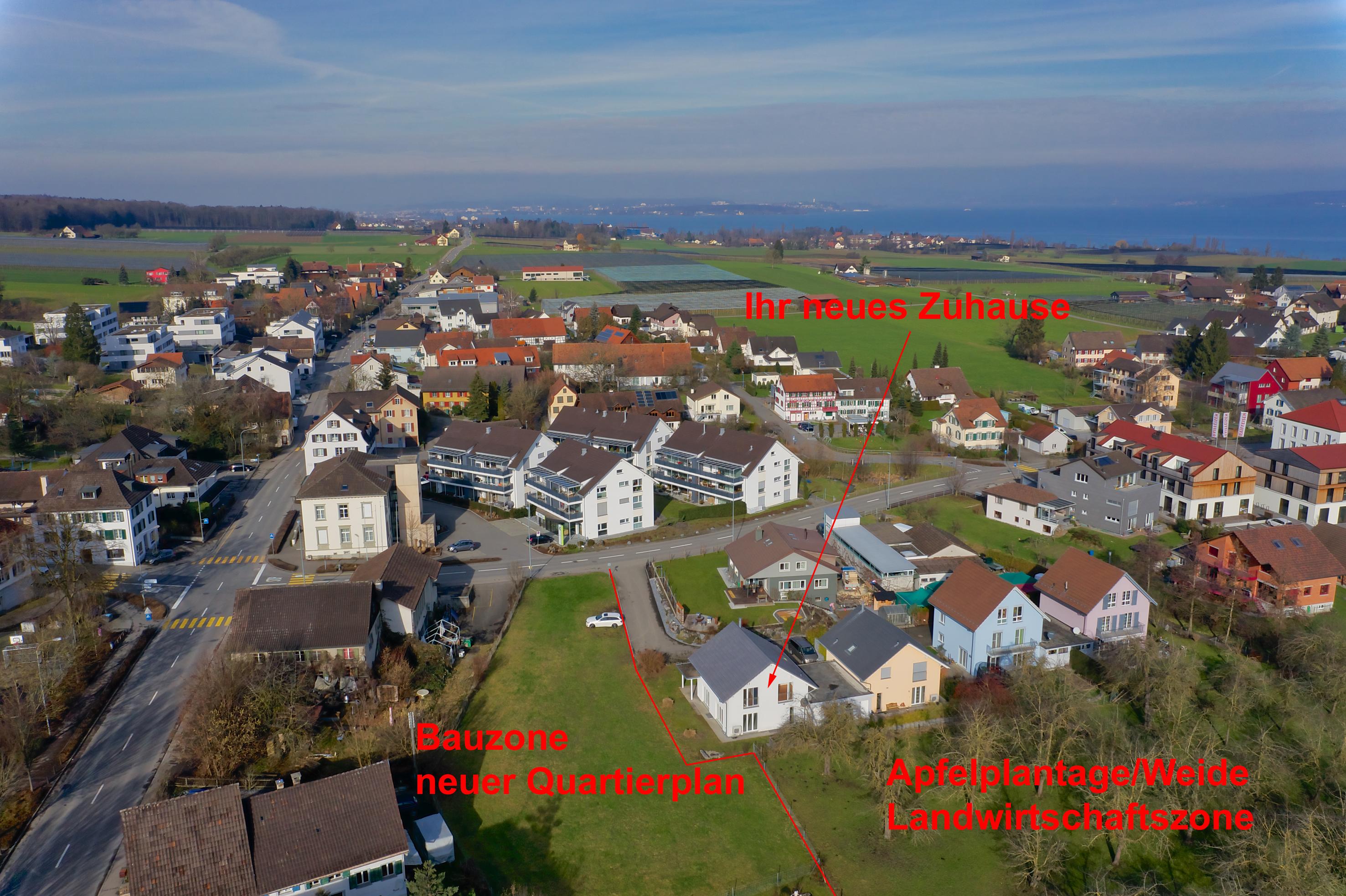 Ihr neues Zuhause mitten im Dorf