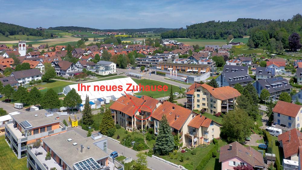 Ihr neues Zuhause, zentral gelegen im Dorfkern von Neftenbach