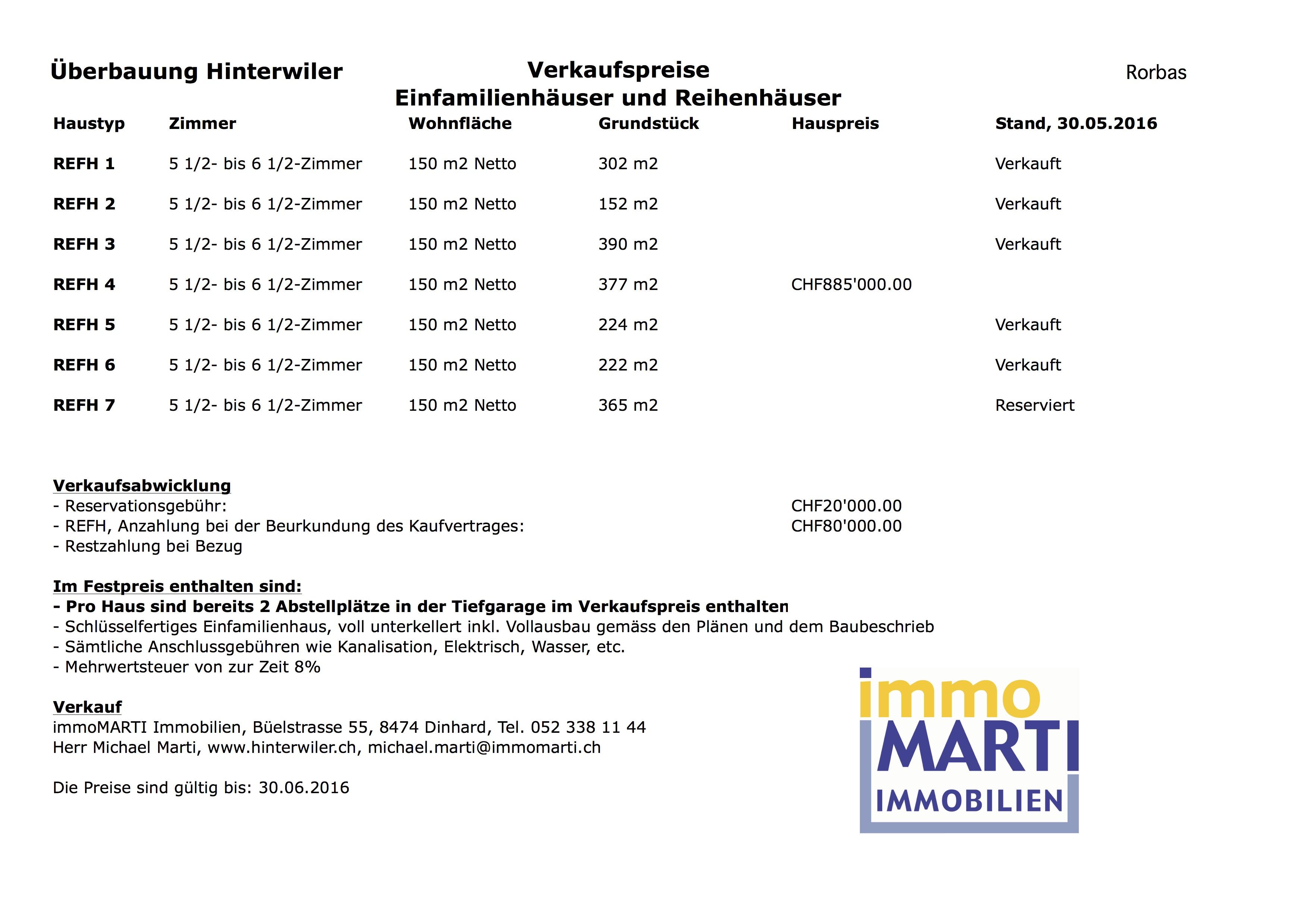 HiRo-REFH-Preisliste-160617