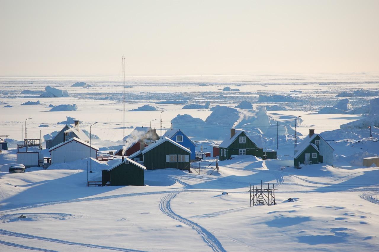 Winter auf der Disko-Insel