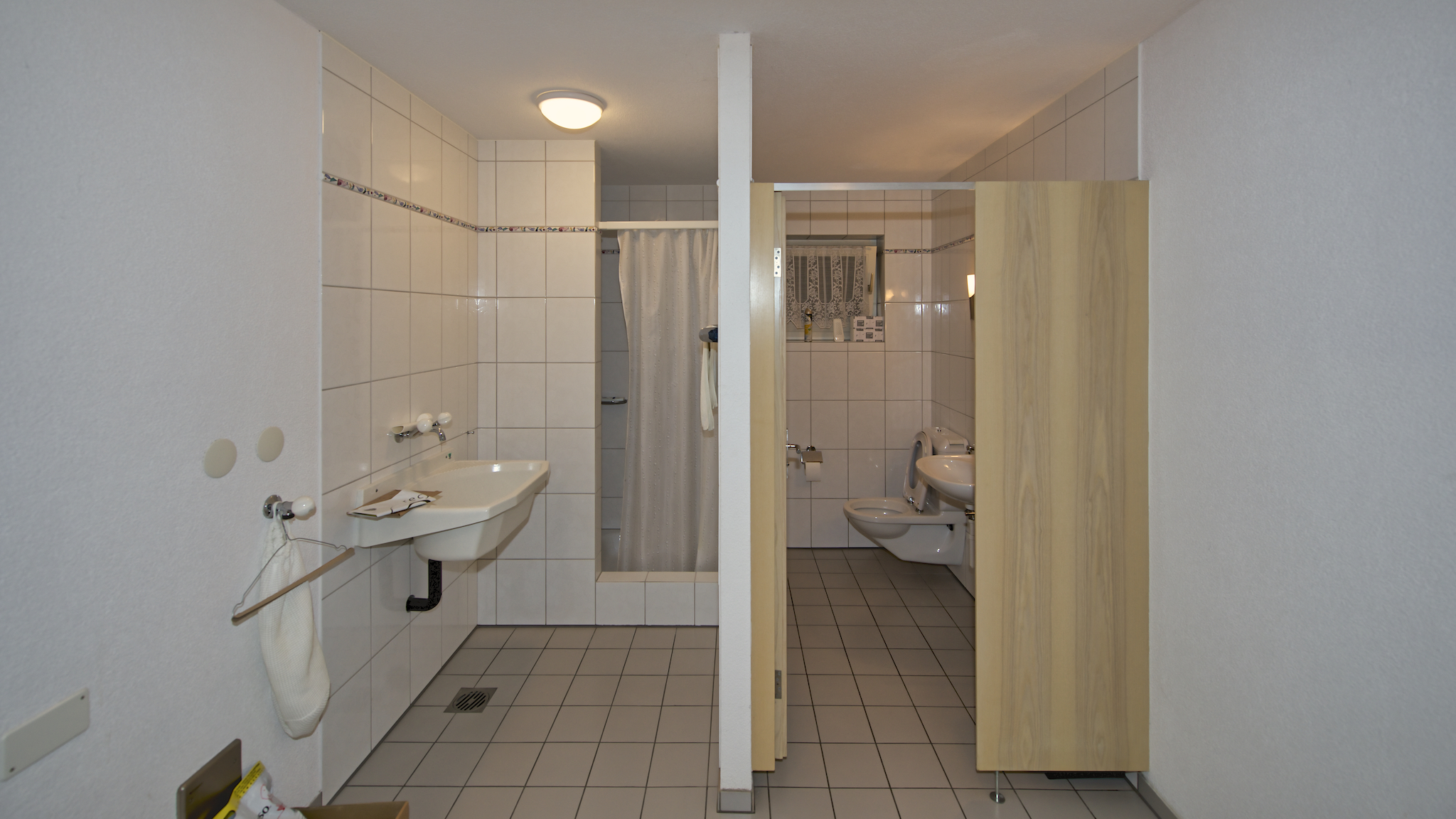 Aktuelle WC-Anlage