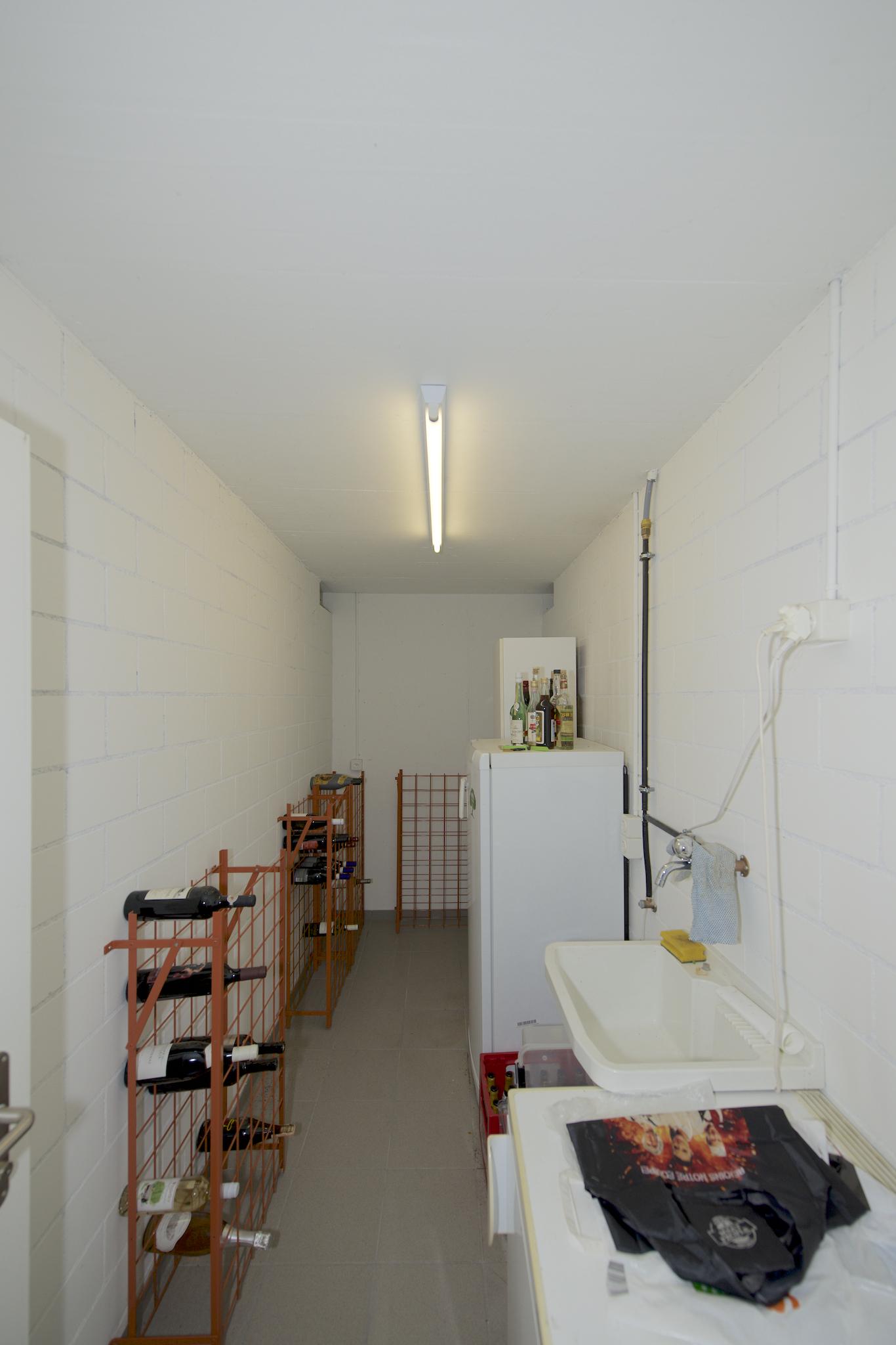 Waschküche (der Waschturm ist im Bad in der Wohnung)