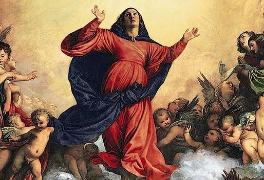 UROCZYSTOŚĆ WNIEBOWZIĘCIA NAJŚWIĘTSZEJ MARYI PANNY   15.08.2021  OGŁOSZENIA DUSZPASTERSKIE