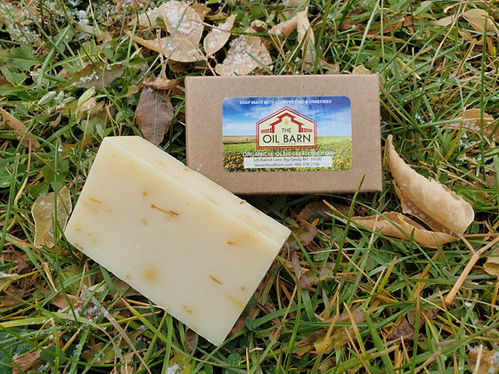 Organic Prairie Sage Soap - 4 Bars (4 oz each)