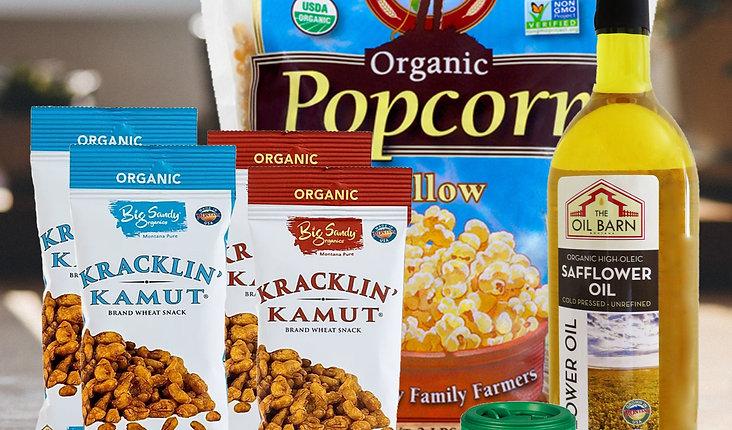 Organic Movie Night Snack Pack