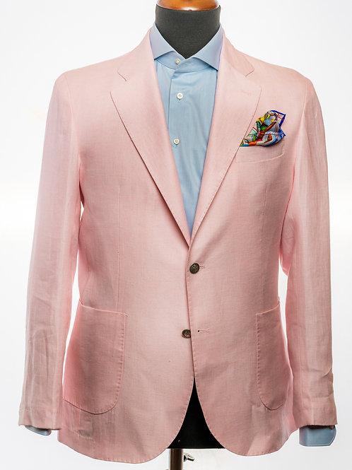 Pure Linen Pink Blazer