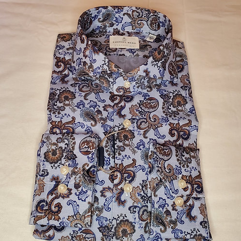 PAISLEY EGYPTIAN COTTON SPORT SHIRT