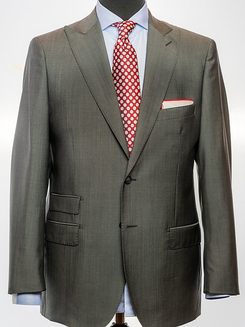 Smoke Grey Mohair and Wool Suit