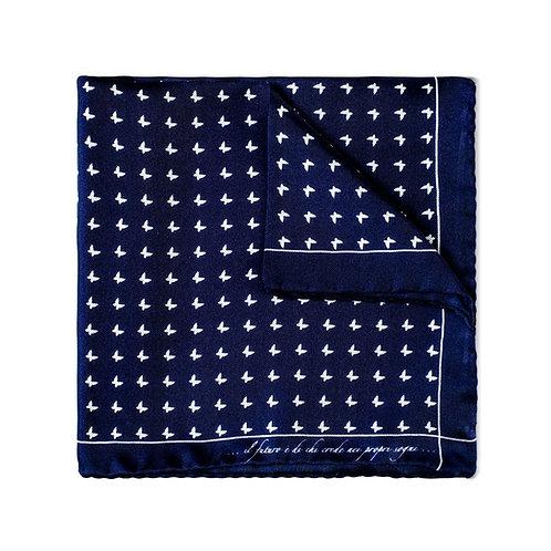 Hand Finished Silk Pocket Square (Pochette)