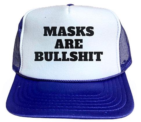 Masks Are Bullshit Trucker Hat