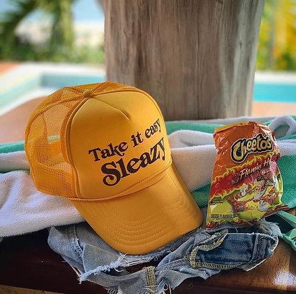 Take It Easy Sleazy Trucker Hat