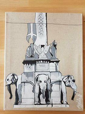 FONTAINE DES ELEPHANTS