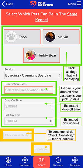 screenshots_scheduling reservation expla