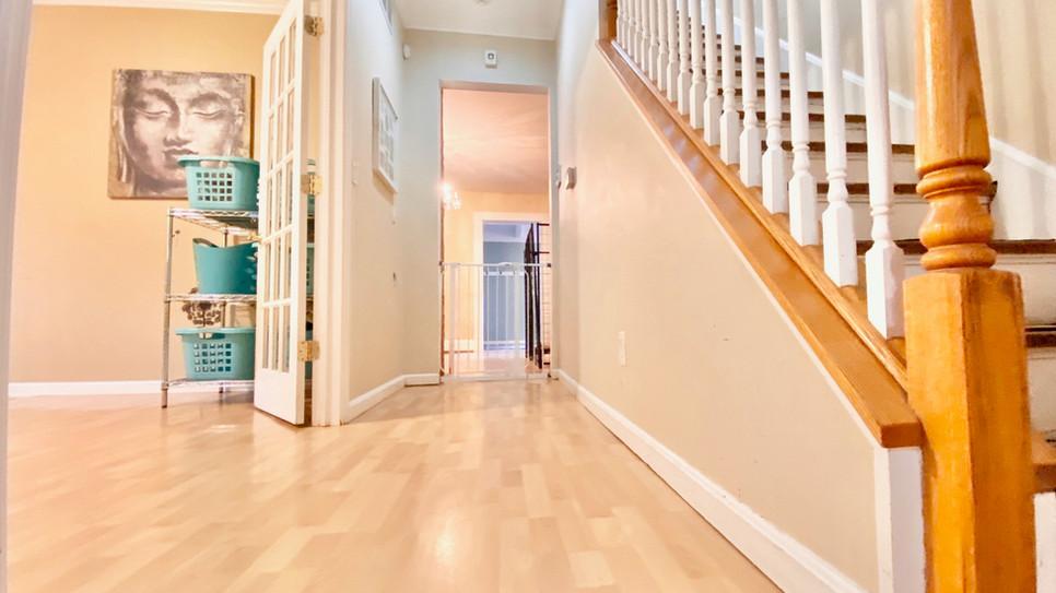 Hallway View to kitchen