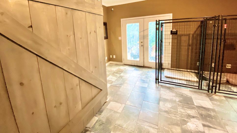 Barn Door Room