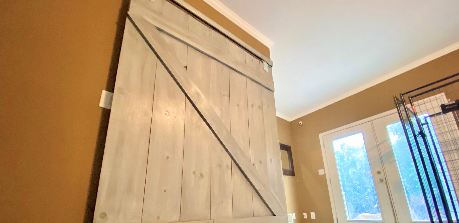 Barn Door Room