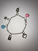 Charm with bells and pendants