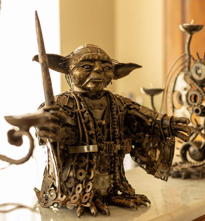 Yoda and the Candlesticks