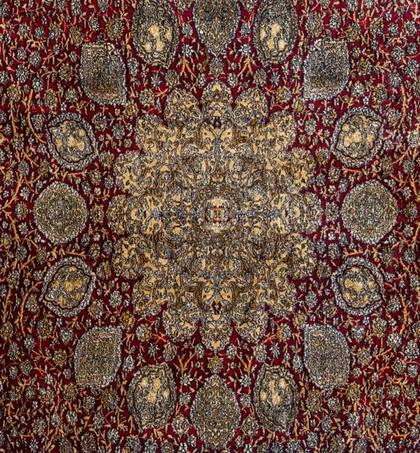 Kashmir Silk Carpet