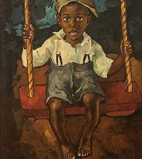 'Boy on Swing'
