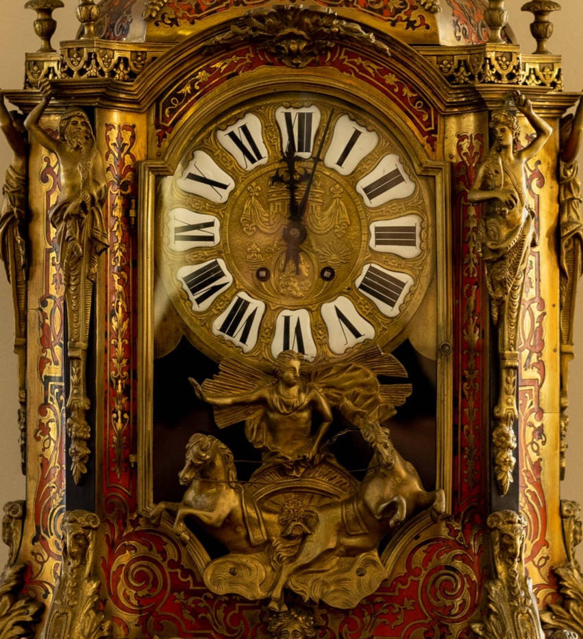 French Antique Clock