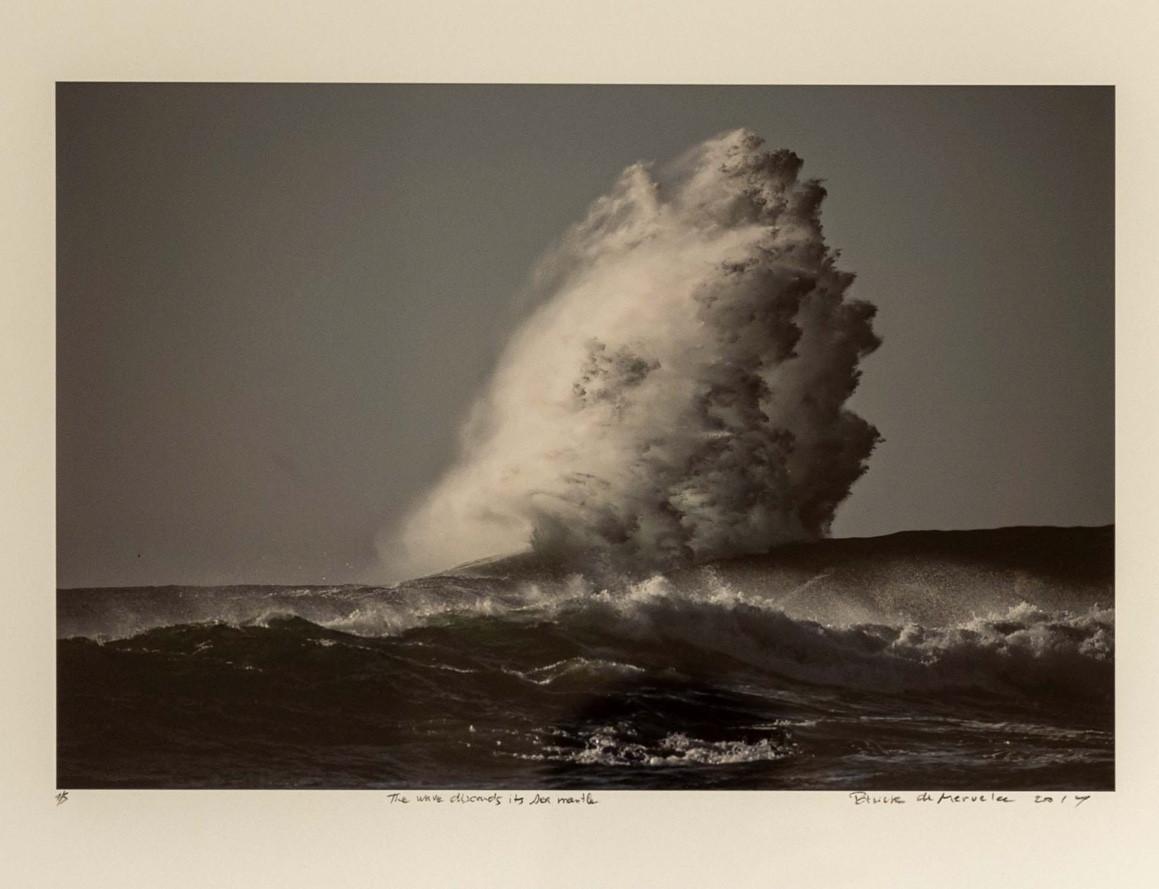'The Wave Descends its Sea Mantle'