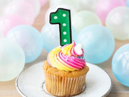 Celebrating my first year in business