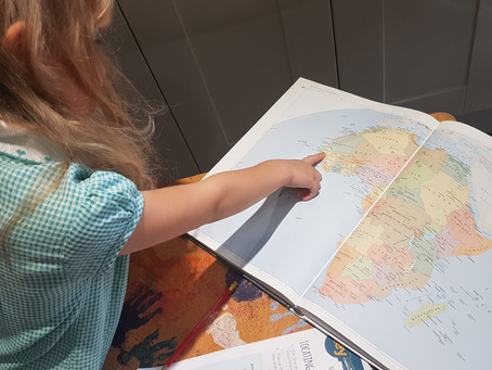 Do children know they are doing Geography in their primary school lessons?