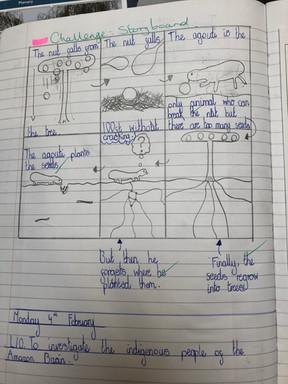 KS2 geography classwork examples