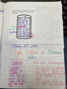 Example classwork using the South Wales Key