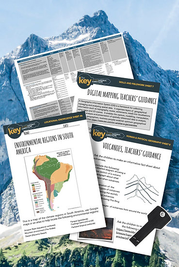Be Geography Ready Year 6 Unit