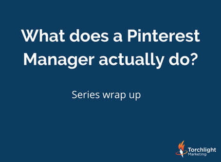 What does a Pinterest Manager actually do?