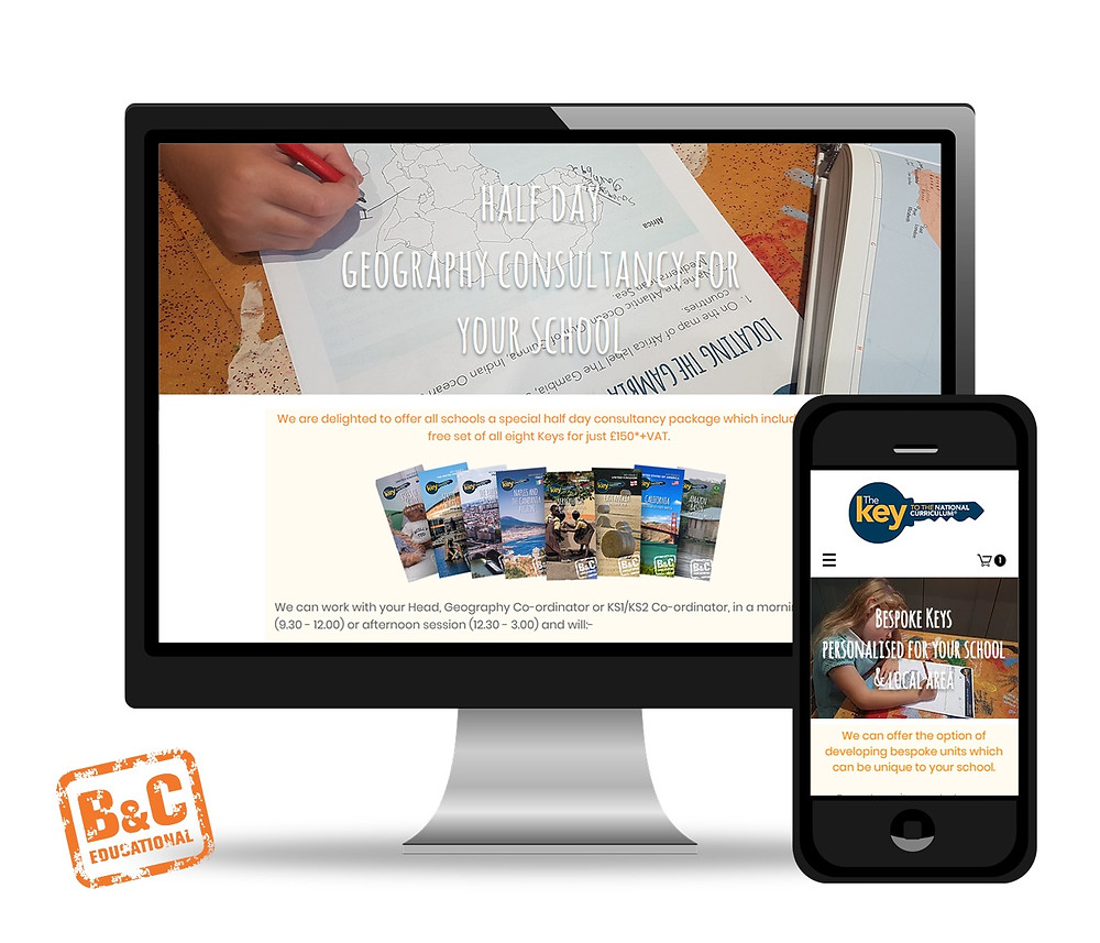 B&C Educational Key Microsite